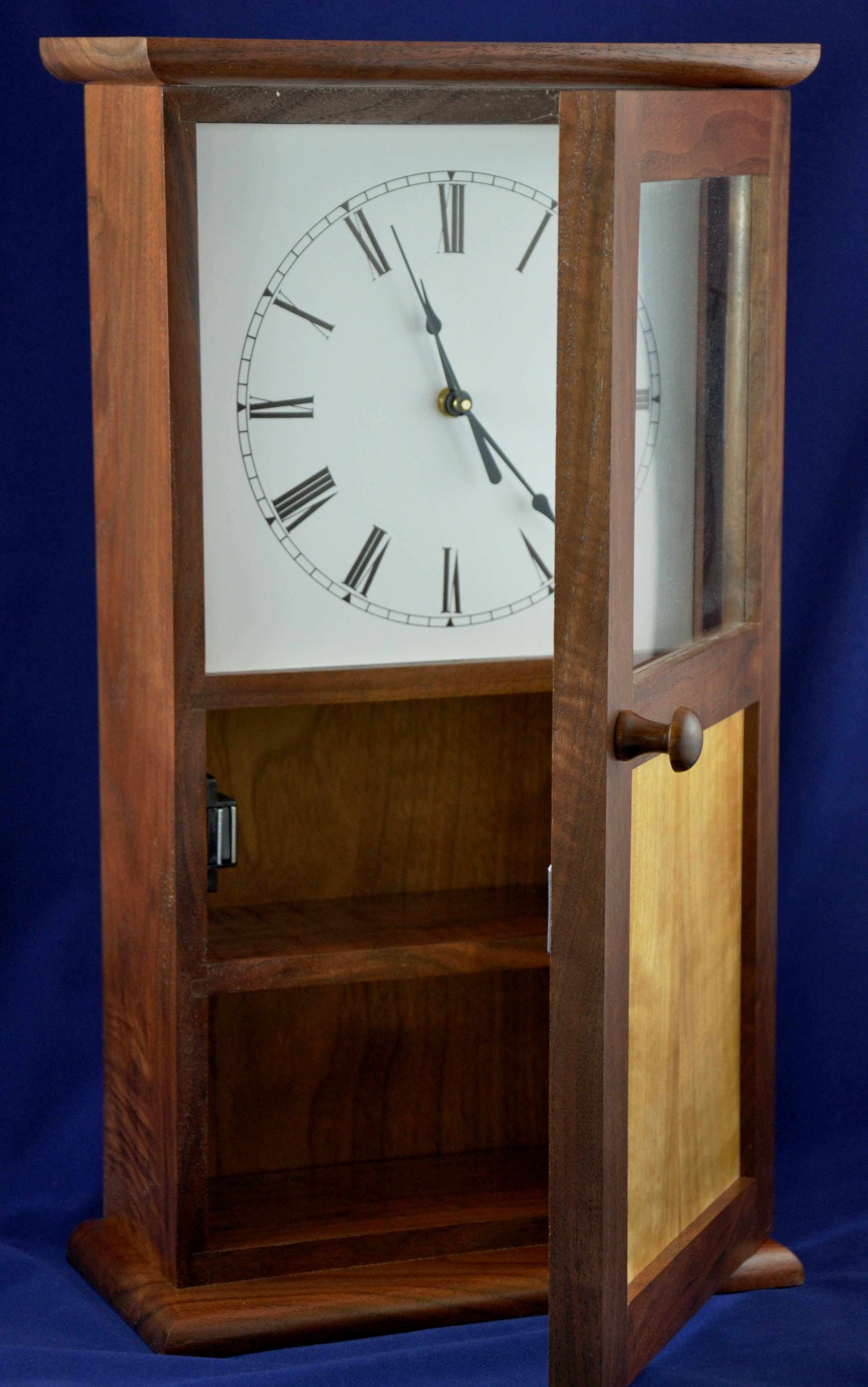 Clocks winding river workshop shaker mantle clock amipublicfo Image collections